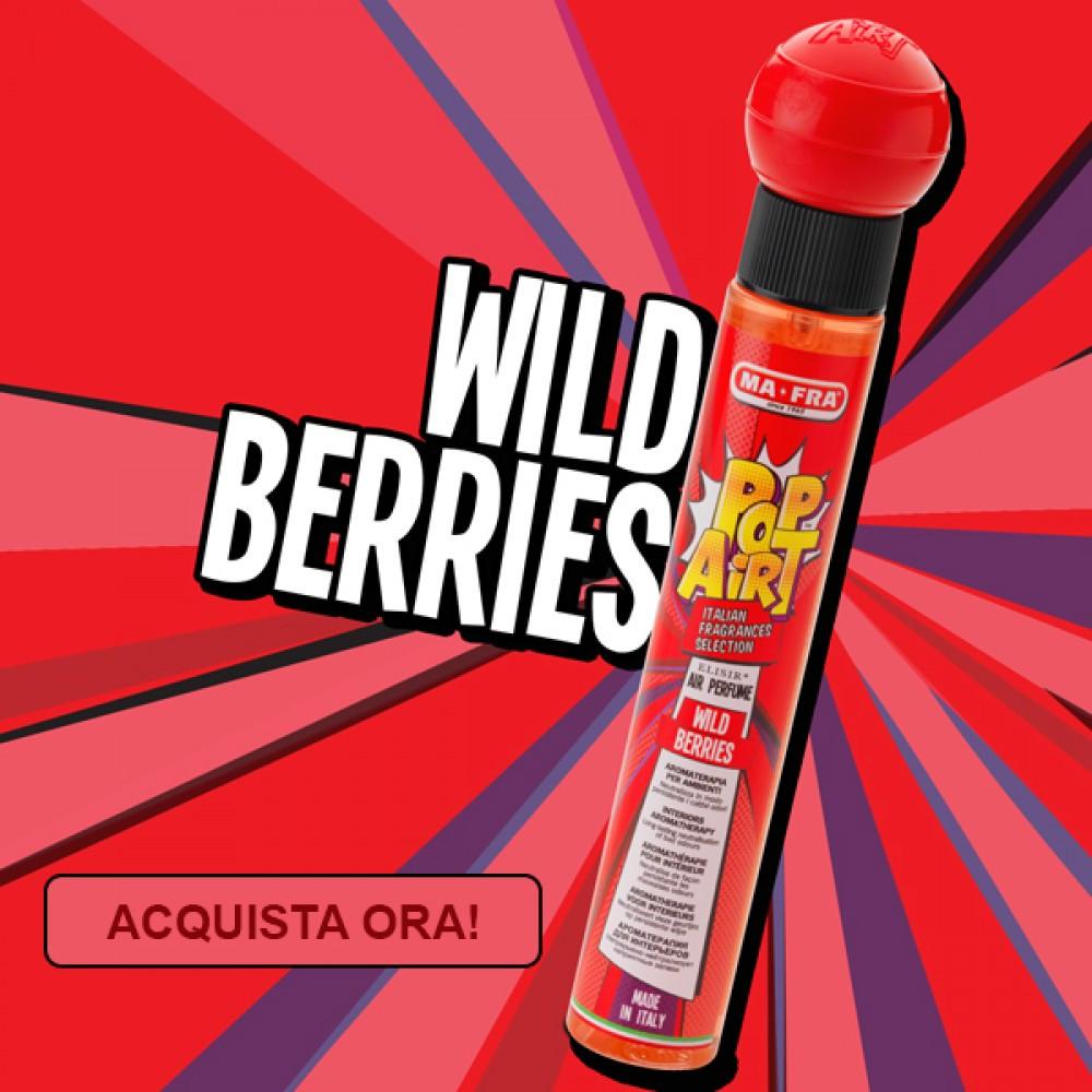 Pop Airt Wild Berries ароматизатор для салона автомобиля