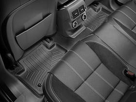Ковер резиновый WeatherTech Jaguar F-Pace 2017+ задние  черные