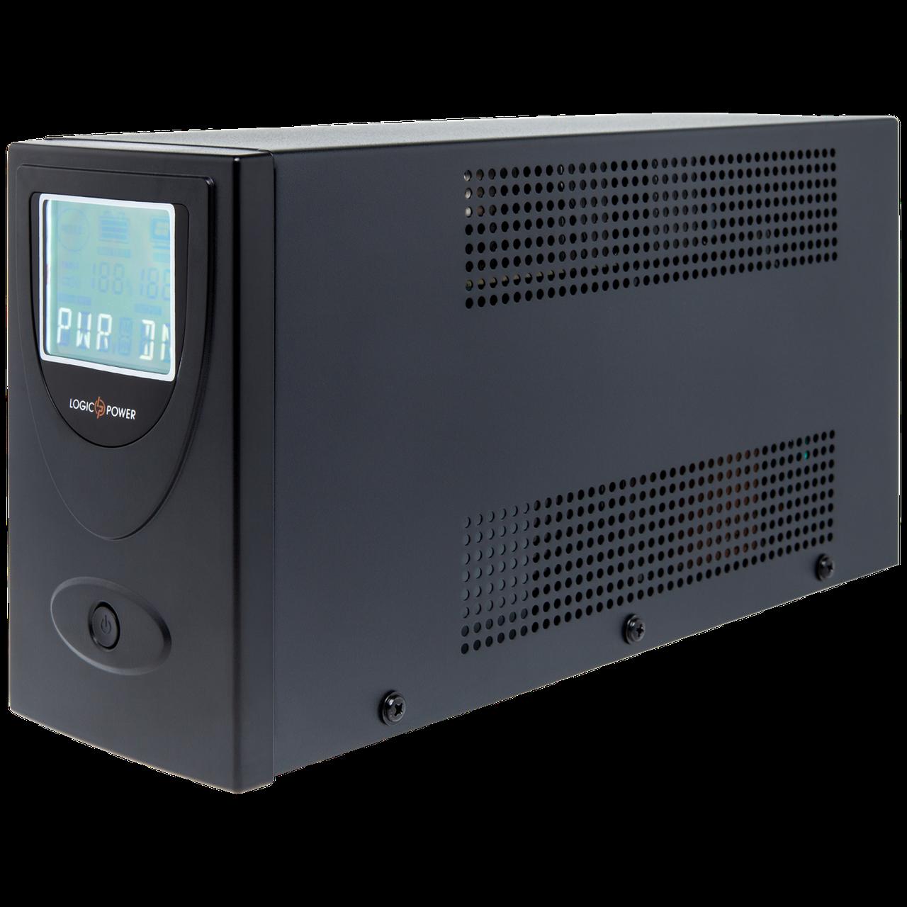 ИБП линейно-интерактивный LogicPower LP UL650VA(390Вт)