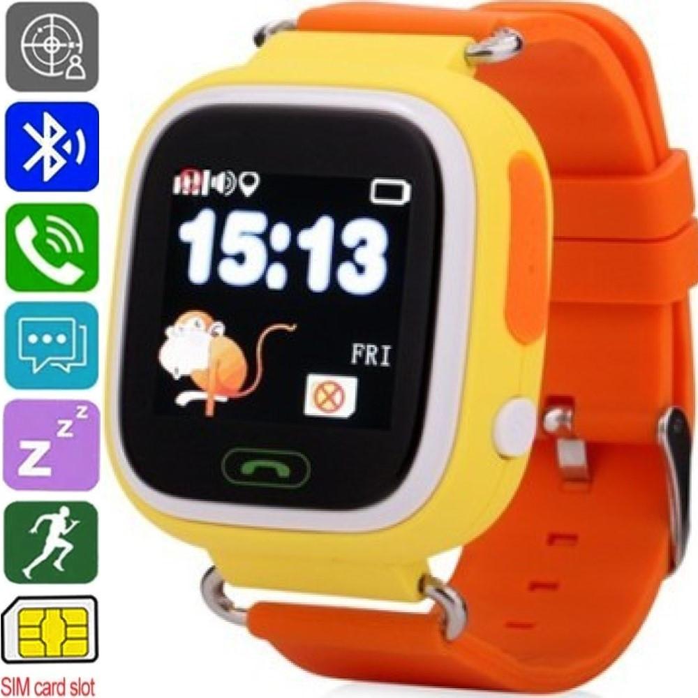 Смарт-годинник дитячі ATRIX SW iQ400 Touch (GPS + SIM) Yellow - Розумні Годинник