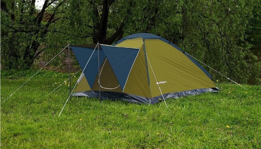 Палатка четырёхместная Presto Acamper MONODOME 4 PRO зеленая