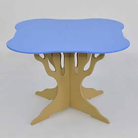 Стол дерево Мася голубой SKL11-181698