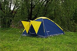 Палатка четырёхместная Presto Acamper MONODOME 4 PRO синяя