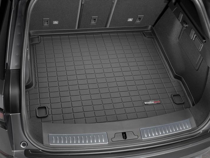 Ковер резиновый WeatherTech Jaguar F-Pace 2017+ в багажник черный