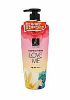 Парфюмированный корейский шампунь для восстановления и повышения упругости волос LG Elastine Love Me, 600 мл