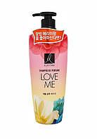 Парфюмированный шампунь для волос LG Elastine Love Me, 600 мл