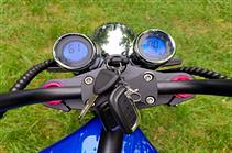 Электроскутер Citycoco Harley Chopper X9 1500W Blue (Синий) Электробайк чоппер Электромотоцикл Сити Коко, фото 3