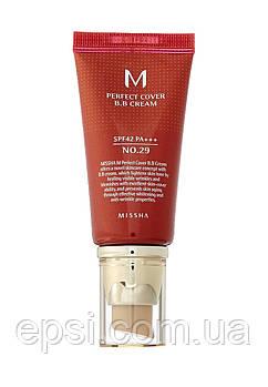 BB-крем Missha M Perfect Cover №29 - Caramel Beige, 50 мл