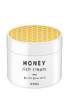 Питательный крем с медом манука Apieu Honey Rich Cream, 100 мл