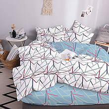 Двуспальное постельное белье ТЕП Geometric blue