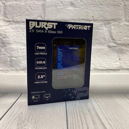"""Твердотельный накопительTeam Patriot 480 Gb SATA3 2, 5"""" TLS, фото 2"""