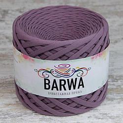 Трикотажная пряжа Барва, стандарт 7-9 мм, лиловый визон
