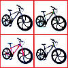 "Велосипед Unicorn - Flash 26"" размер рамы 18"" Black-white, фото 4"