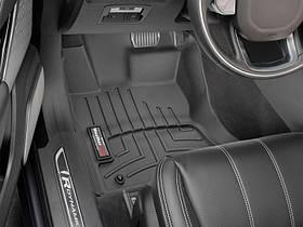 Ковер резиновый WeatherTech  Range Rover Velar 2017+ передние  черные