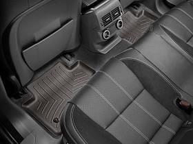 Ковер резиновый WeatherTech  Range Rover Velar 2017+ задние  какао
