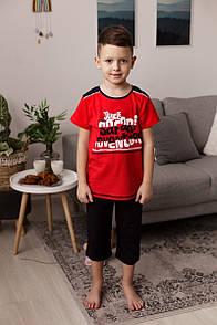 """Классная пижама с шортиками капри для мальчика """"Safari"""""""