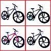 "Велосипед Unicorn - Flash 26"" размер рамы 18"" Black-Violet 2020год, фото 4"
