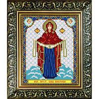 Набор с бисером икона VIA5010 Икона Покрова