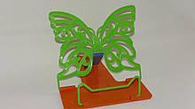 Подставка для книг бабочка