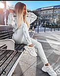 Женский спортивный костюм из трикотажа с лампасами и капюшоном vN7810, фото 4