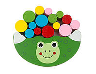 Деревянная игрушка Игра MD 1276-6 (Лягушка) балансир