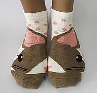 """Жіночі стрейчеві шкарпетки """"Calze Vita"""". Шиншилка. Туреччина."""