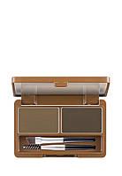 Набор для макияжа бровей Apieu Shaping Brow Kit Темно-коричневый, 5 г