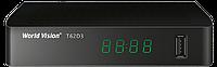 World Vision T62D3 DVB-T2 цифровой эфирный приемник