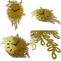 Настенные Часы Glozis Willow 55х40 см Бронзовый