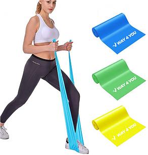 Набор Эластичных лент для фитнеса Way4you Set of 3, фото 2