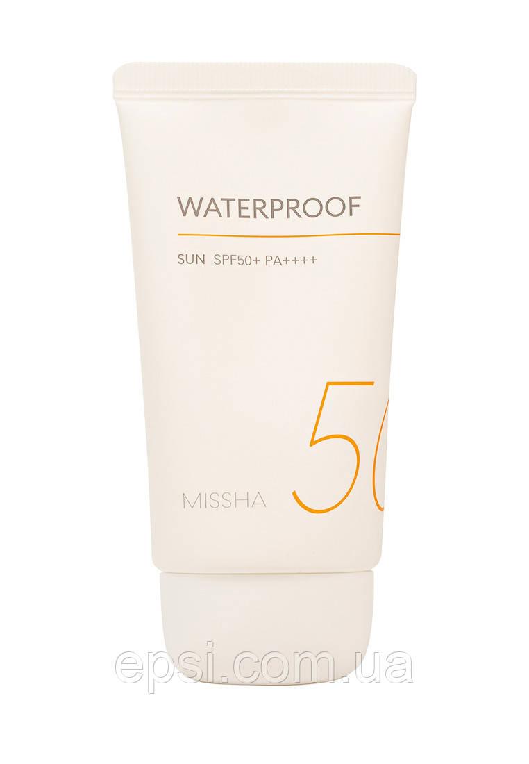Водостойкий солнцезащитный крем Missha All Around SPF50 + / PA ++++, 50 мл