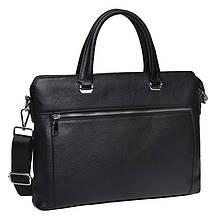 Мужская кожаная сумка Keizer K17240-black