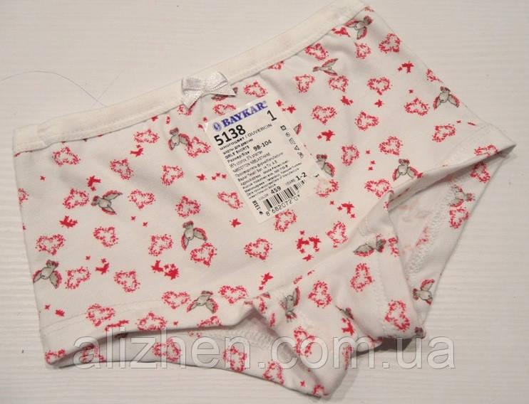Детские трусики-шорты для девочки тм Baykar, рост 98-104, 110-116см.