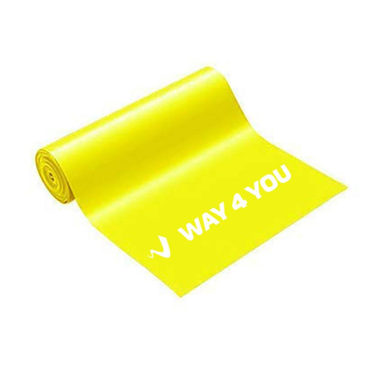 Эластичная лента для фитнеса Way4you - Light (Yellow)