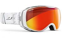 Лыжная маска JULBO LUNA SNOW TIGER с двойной линзой против запотевания белая, фото 1