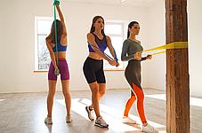Эластичная лента для фитнеса Way4you - Light (Yellow), фото 3