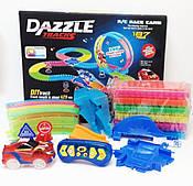 Гоночная трасса DAZZLE TRACKS (187 деталей) 425 см