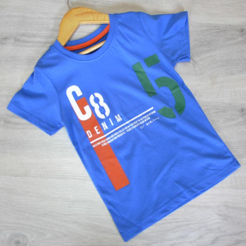 Детская трикотажная футболка для мальчиков (5-10 лет) (6 ед в уп.)