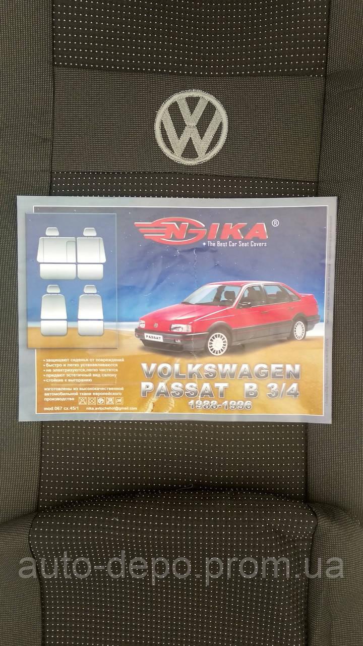 Авточохли Volkswagen Passat B3 1988-1993 Nika