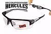 Защитные спортивные очки Global Vision Hercules-7 с прозрачными линзами