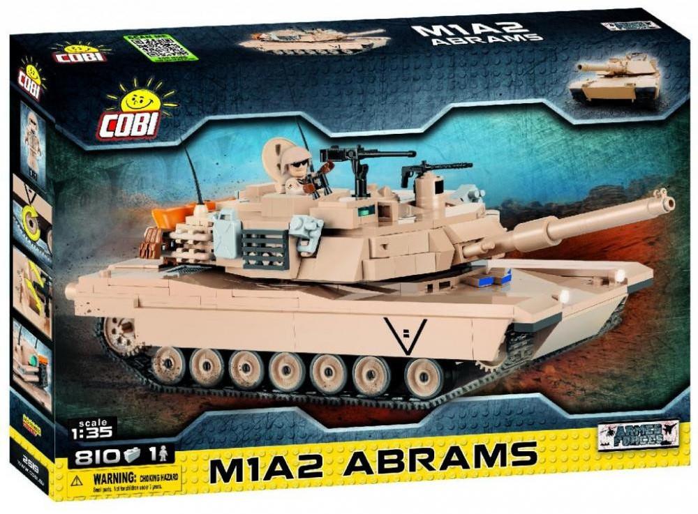 Конструктор Танк М1 Абрамс COBI серия Small Army (COBI-2619)