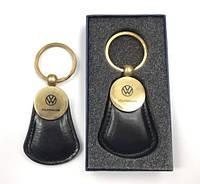 Автомобильный брелок на ключи черный  Фольксваген VolksWagen
