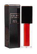 Матовый флюид для губ Apieu Color Lip Stain Matte Fluid OR01, 4.4 г, фото 3