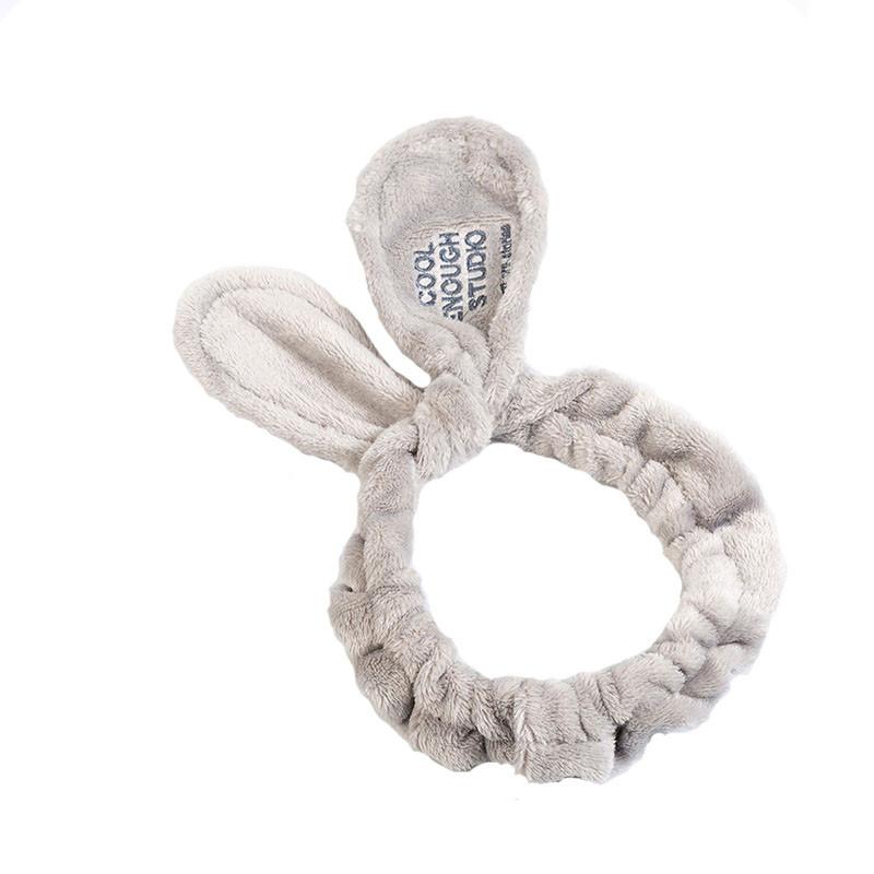 Косметическая повязка для волос Lux4ika COOL ENOUGH STUDIO Серый (n-547)