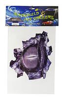 СУПЕР ХИТ! Наклейки на авто, стекло, универсальные тюнинг  /30 см х 20 см/ глаз дракона