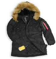 Зимняя женская куртка аляска  Alpha Industries Darla Parka WJD38014C1 (Black)