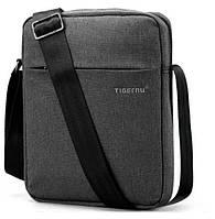 Сумка для планшета многофункциональная на плечо Tigernu 26х21х6 см