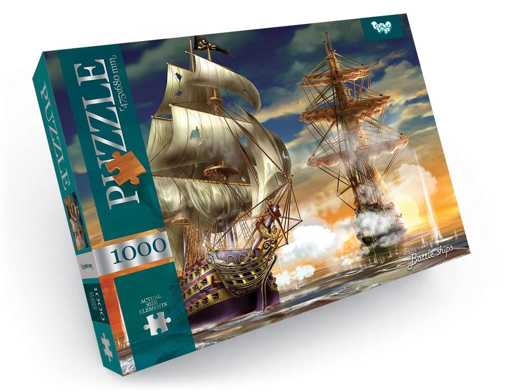 Пазлы Danko Toys Battle ships 1000 элементов (С1000-09-09)