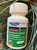 Препарат от головной боли, мигрени Equate Headache Relief, фото 1