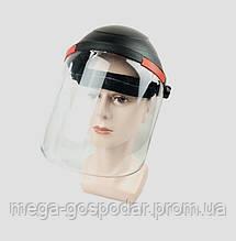 Щиток защитный прозрачный,лицевой щиток,защита глаз и лица